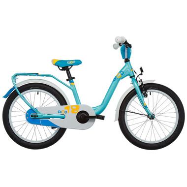 "Bicicletta Bambino S'COOL NIXE Allu 1V 18"" Blu/Turchese"